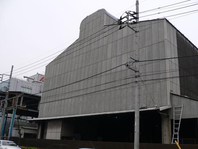工場外壁張替工事(スレート→スレート)
